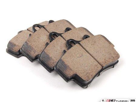 ES#2770739 - EUR737 - Front Euro Ceramic Brake Pad Set - EURO Ceramic brake pads - Akebono - Porsche