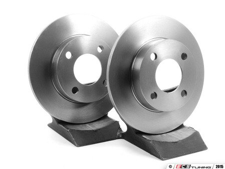 ES#5259 - 8a0698601 - Brake Rotors - Pair (245x10) - Restore braking power. - ATE - Audi
