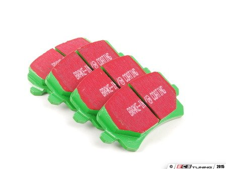 ES#2153389 - DP22004 - GreenStuff Performance Brake Pads - Rear - Mildly upgraded pad for an afternoon of sporty driving - EBC - Audi Volkswagen
