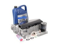 ES#2602890 - 06A103601IN - ECS Hybrid 1.8T Oil Pan Installation Kit - Complete kit with everything needed for a start to finish oil pan replacement. - Assembled By ECS - Volkswagen