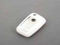 ES#2792941 - 3592RKLN13408 - Key Fob Cover - White - Snap on covering for the new style flip key - Bremmen Parts - Volkswagen