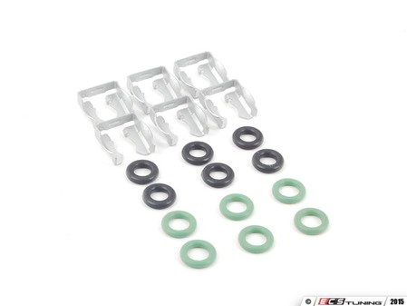 ES#2763452 - 1190780641KT4 - Fuel Injector Installation Kit - Includes everything required to replace the fuel injectors - Assembled By ECS - Mercedes Benz