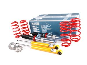 "ES#248707 - 29271-1 - Street Performance Coilover Kit - Unrivaled comfort and performance. Average lowering of 1.2""-2.2""F 1.2""-2.2""R - H&R - Audi Volkswagen"