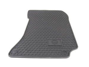 ES#1828017 - Q6680710 - All-Season Floor Mats - Black - Set of four with 'Mercedes-Benz' and Star logo - Genuine Mercedes Benz - Mercedes Benz