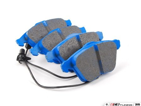 ES#2621576 - DP51495NDX - Front blueStuff nDX Performance Brake Pad Set - Intermediate grade trackday pads for aggressive street driving and track use. - EBC - Audi