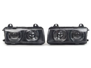 ES#263857 - HXBME36HLBZKW60 - European Projector Headlight Set - ZKW style ECE lighting, vastly improve your lighting performance - DJ Auto - BMW