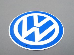 ES#1875162 - DRG019977 - VW logo sign - Volkswagen sign for hanging almost any place - Genuine Volkswagen Audi - Volkswagen