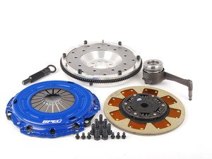 ES#2575786 - SV872-281AKIT - Stage 2 Clutch Kit - Aluminum Flywheel (9lbs) - Streetable clutch holds up to 410 FT LBS TQ - Spec Clutches - Volkswagen