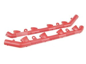 ES#285195 - 079971821 - Coil Pack Wiring Conduit - red - Left  - Shields the wiring for the coil packs - Genuine Volkswagen Audi - Audi