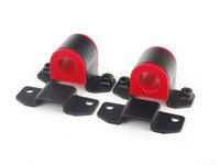 ES#2826402 - 005787ECS04A - Front Sway Bar Bushings and Brackets - 26mm - Upgrade your 26mm front sway bar bushings with polyurethane for increased lateral stiffness! - ECS - Volkswagen