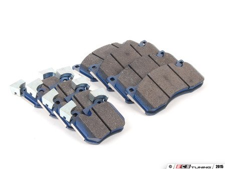 ES#2827195 - 8483-d1371KT - Front And Rear Cool Carbon S/T Performance Brake Pad Set - All-in-one brake pads that deliver pure undiluted performance - Cool Carbon Performance - BMW