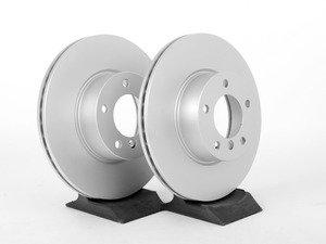 "ES#2762160 - 34116792219KT2 - Front Brake Rotors - Pair (312x24) - Featuring Meyle's ""Platinum"" coating - Meyle -"