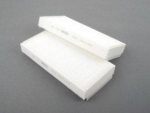 ES#2608356 - 2108301018 - Cabin Air Filter - Set Of Two - Located in the climate control plenum near the blower motor - Corteco - Mercedes Benz
