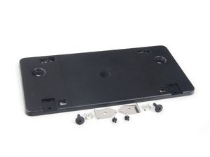 ES#448302 - 8J0807845B - License Plate Bracket - Rear - Mounts to the decklid allowing mounting of license plate - Genuine Volkswagen Audi - Audi