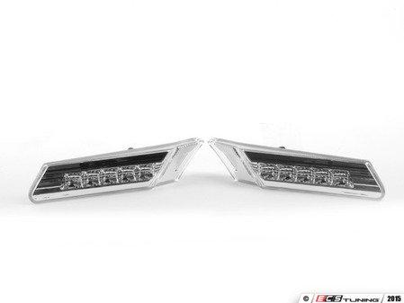 ES#2808389 - D481402PAVC - LED Clear Side Marker Light Set - White LEDs - Simple plug & play installation - Depo - Porsche