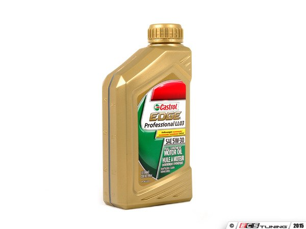 genuine volkswagen audi g0521951l edge professional long life full synthetic engine oil 5w. Black Bedroom Furniture Sets. Home Design Ideas