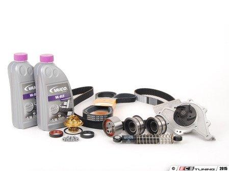 ES#8150 - 077198481 - ECS Tuning Timing Belt Kit - Ultimate Plus - The ultimate 19 piece kit for preventative maintenance! - Assembled By ECS - Audi