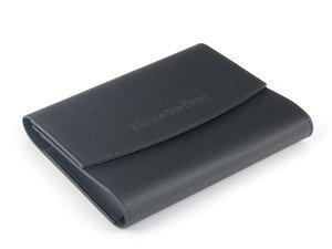 ES#1607577 - 0008992461 - Vehicle Documents Wallet - Black Leather With Mercedes-Benz Logo - Genuine Mercedes Benz - Mercedes Benz