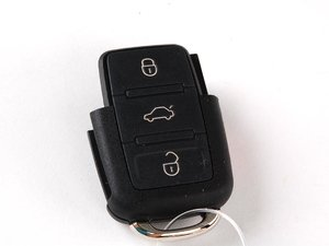 ES#310872 - 1J0959753DC -  Wireless Remote - Square Button - This is a late model remote with 3 square buttons, does not include key - Genuine Volkswagen Audi - Volkswagen