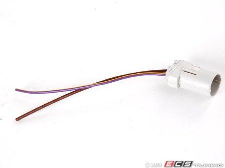 ES#258637 - 1j0941953 - Park Light - Bulb Holder W/ Harness - Socket with pigtail - Genuine Volkswagen Audi - Volkswagen