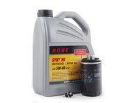 ES#2834922 - N90813202KT12 -  Oil Service Kit - With ECS magnetic Drain Plug - Includes Rwe oil, Mann filter, and ECS magnetic drain plug - Assembled By ECS - Audi Volkswagen