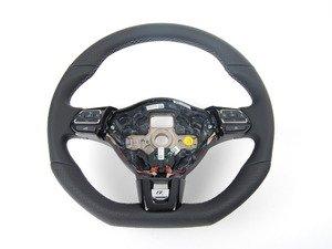 ES#2553989 - 5K0419091ARASZ - Golf R Steering Wheel - Multifunction Buttons - Flat bottom steering wheel from the Golf R model. - Genuine Volkswagen Audi - Volkswagen