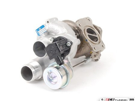 ES#4351845 - 11657583149KT1 - MINI N14 JCW Turbo And Turbo Installation Kit  - Used to install a new stock turbo, includes turbo, both types of the 3 point triangular gaskets, use only one. Includes all oil and coolant lines, studs, and Liqui Moly sealant - Assembled By ECS - MINI