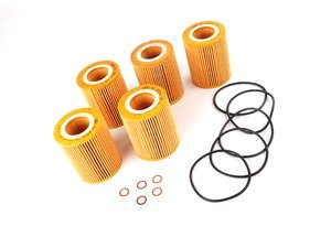 ES#240322 - 11427512300MN-5 - Oil Filter Kits, Pack Of 5 - Stock Up And SAVE! - OE quailty for your BMW M54, buy in sets of 5 or 10 - Mann - BMW