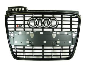 ES#2081149 - 8E0853651KVMZ - S4 Grille Assembly - Blackout - Clean up or change your look - Genuine Volkswagen Audi - Audi