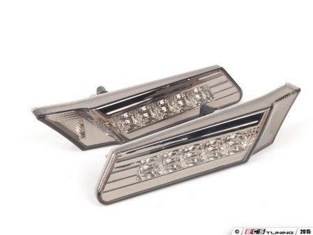 ES#2808388 - D481402PAEVS - LED smoked Side Marker Light Set - Amber LEDs - Simple plug & play installation - Depo - Porsche