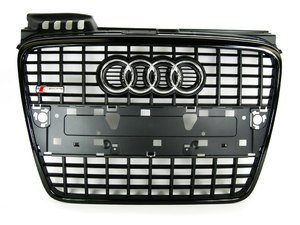 ES#2081150 - 8E0853651MVMZ - S-Line Grille Assembly - Blackout - Clean up or change your look - Genuine Volkswagen Audi - Audi