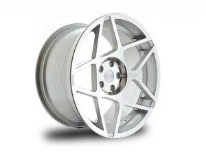"""ES#2804089 - 3S8291CKT4 - 20"""" Style 0.08 Wheels - Set Of Four - 20""""x9"""" ET25 CB66.6 5x112 Polished - 3SDM - Audi"""