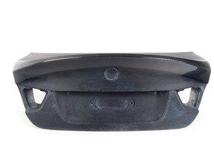 ES#2776791 - 008007ECS05A - CSL Style Trunk Lid With Carbon Fiber Spoiler - Get the legendary CSL look plus the benefits of lightweight carbon fiber. Reuses your factory trunk handle. - ECS - BMW