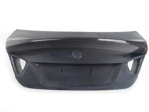 ES#2776790 - 008007ECS04A - CSL Style Trunk Lid with Carbon fiber Spoiler - Get the legendary CSL look plus the benefits of lightweight carbon fiber. Reuses your factory trunk handle. - ECS - BMW