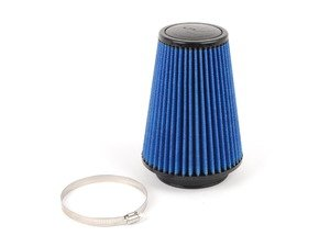 """ES#518509 - 24-40508 - Universal Pro 5R Air Filter - Blue (oiled) - Replacement filter with 4.0""""inlet, 6""""base, 4""""top, and 8""""height - AFE - Volkswagen"""
