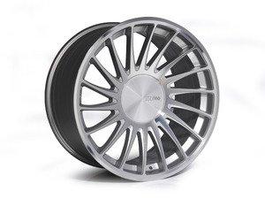 """ES#2840811 - 3SDM00531KT1 - 19"""" Style 0.04 Wheels - Staggered Set Of Four - 19""""x8.5"""" ET42 / 19""""x10.0"""" ET35 CB66.6 5x112 Silver/Cut - 3SDM - Audi"""