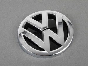 ES#2737414 - 5G0853617A - VW Emblem - Rear - Replacement for the original which will be destroyed upon removal - Genuine Volkswagen Audi - Volkswagen