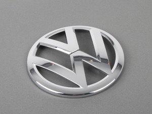 ES#2727211 - 5G08536012ZZ - Front Grille Emblem - Refresh your grille emblem with this genuine bright chrome emblem - Genuine Volkswagen Audi - Volkswagen
