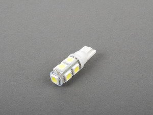 ES#2515362 - PLT1095050WHT - Wedge Base White LED Bulb - Non Canbus - Priced Each - 9 Chip White LED Wedge Base Bulb - ZiZa -