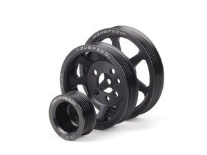 ES#2826028 - 62.10.88 - Lightweight underdrive Pulley Set - Includes a new alternator, power steering and crank pulley that allows you to use a stock belt - Neuspeed - Volkswagen