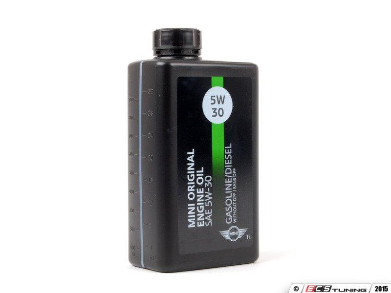 Genuine mini 83212365947 5w 30 factory engine oil 1 for Mini cooper motor oil
