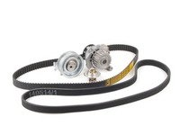 ES#2763863 - 06A109119CULTKT1 - Genuine Ultimate Timing Belt Kit - Comes with the standard kit plus a water pump, accessory belt, and thermostat - Genuine Volkswagen Audi - Volkswagen
