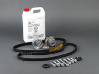 ES#2763858 - 06a109119cultkt - Genuine Ultimate Plus Timing Belt Kit - Comes with the ultimate kit plus cam and crank seals, hardware and 2 liters of G13 coolant - Genuine Volkswagen Audi - Volkswagen