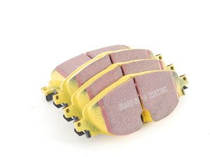 ES#2816770 - DP42150R - Front YellowStuff Performance Brake Pad Set (312mm/288mm) - A race quality pad that can be used at the track and back home again. - EBC - Audi Volkswagen