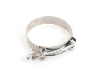 ES#2823256 - 003402ECS07A-03 - T-Bolt Hose Clamp - 70-78mm - Priced each - German-style 304 stainless hose clamp - ECS - Audi BMW Volkswagen Mercedes Benz MINI Porsche