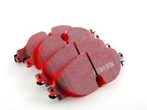 ES#2816769 - DP32150C - Front RedStuff Performance Brake Pad Set (312mm/288mm) - High performance street pad featuring Kevlar technology. - EBC - Audi Volkswagen