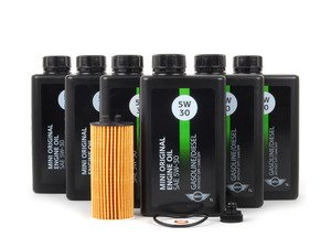 ES#2763512 - 11428570590KT - MINI Oil Service Kit Gen 3 2.0L - Priced As Kit - All in one service for your MINI - Genuine MINI - MINI