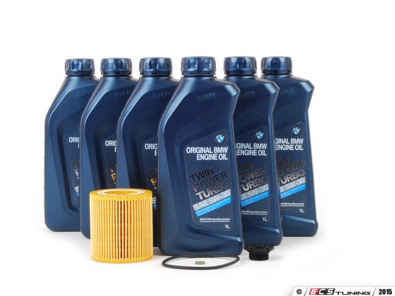 Genuine bmw 11427640862kt genuine bmw oil change kit for Bmw motor oil recommended