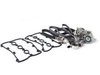 ES#2762286 - 06C198479kt2 - Timing Belt Kit - Ultimate  - Complete kit to service your timing belt, water pump, and thermostat - Assembled By ECS - Audi