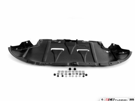 ES#2622505 - 8E0863821ALKT - Belly Pan & Installation Hardware Kit - Includes a replacement belly pan with all necessary mounting hardware - Assembled By ECS - Audi